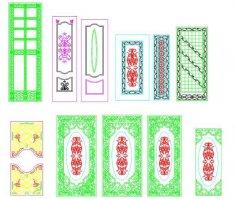 Interior Panel Doors Free Vector