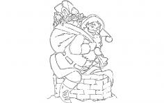 Santa Claus dxf File
