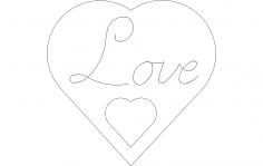 Love sing script dxf File
