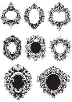 Barocco Frame Free Vector