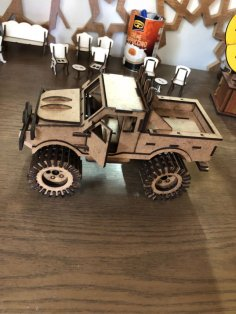 Jeep SUV 3D Puzzle