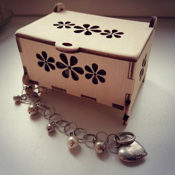Decorative Box Lasercut Free Vector