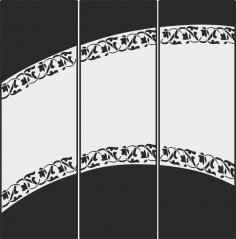 Decorative Frosted Glass Pattern Free Vector