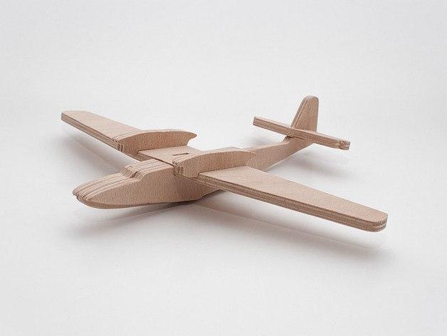 Dornier Do 26 Lasercut 3D Model dxf File