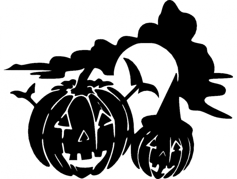 halloween-holiday-jackolantern  dxf File