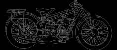 Bike dxf File