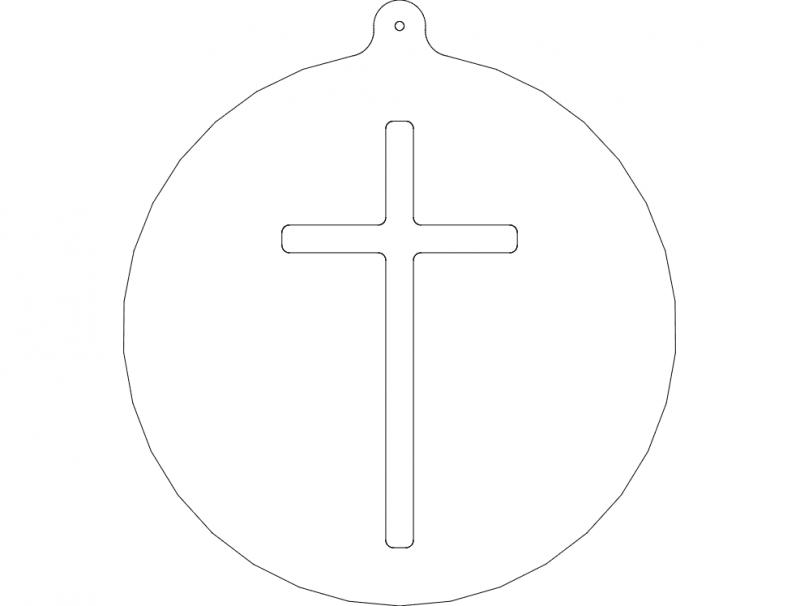 cross-orn dxf File