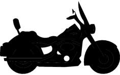 Harley Bike dxf File