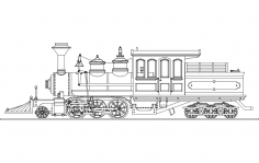 Breckenridge Engine dxf File