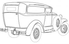 1930 Chopped dxf File