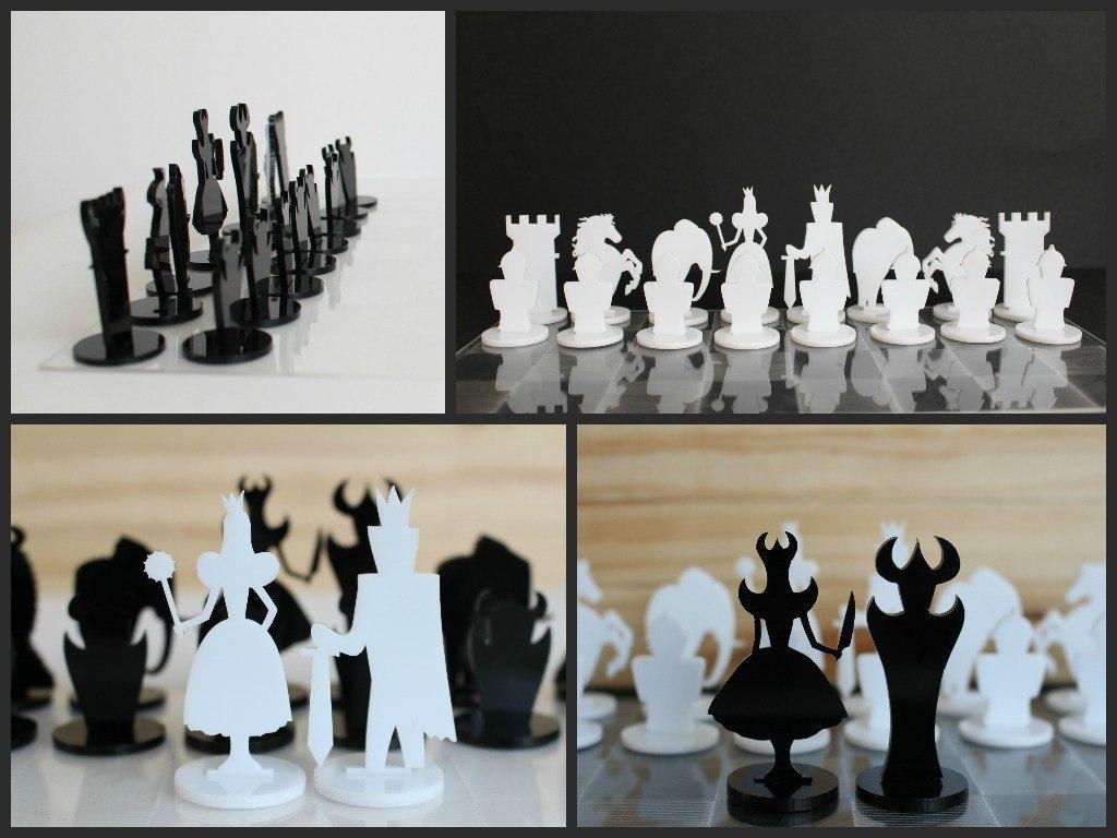 CNC Chess Set Plans Free Vector