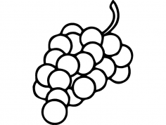 Grapes dxf File