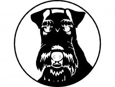 Wire Fox Terrier 1 dxf File