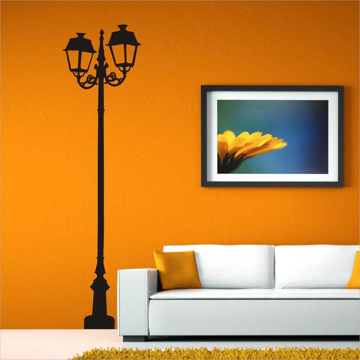 Ornate Lamp Post vector