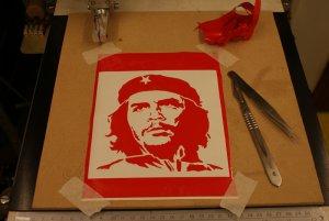 Che Guevara dxf File