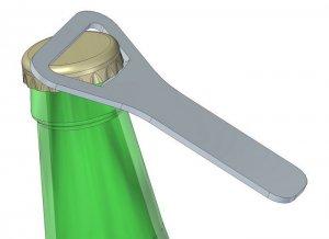 Bottle Opener 6 dxf