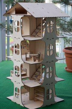 дом 5ти этажный lasercut-5mm PDF File