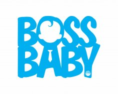 The Boss Baby Sticker Free Vector