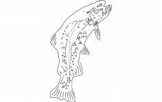 Trout dxf File