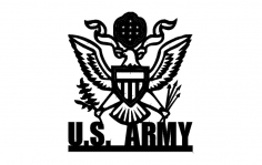 Us Army 2c dxf File