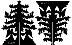 Xmastree dxf File
