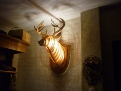 3D Wooden Deer Head Puzzle