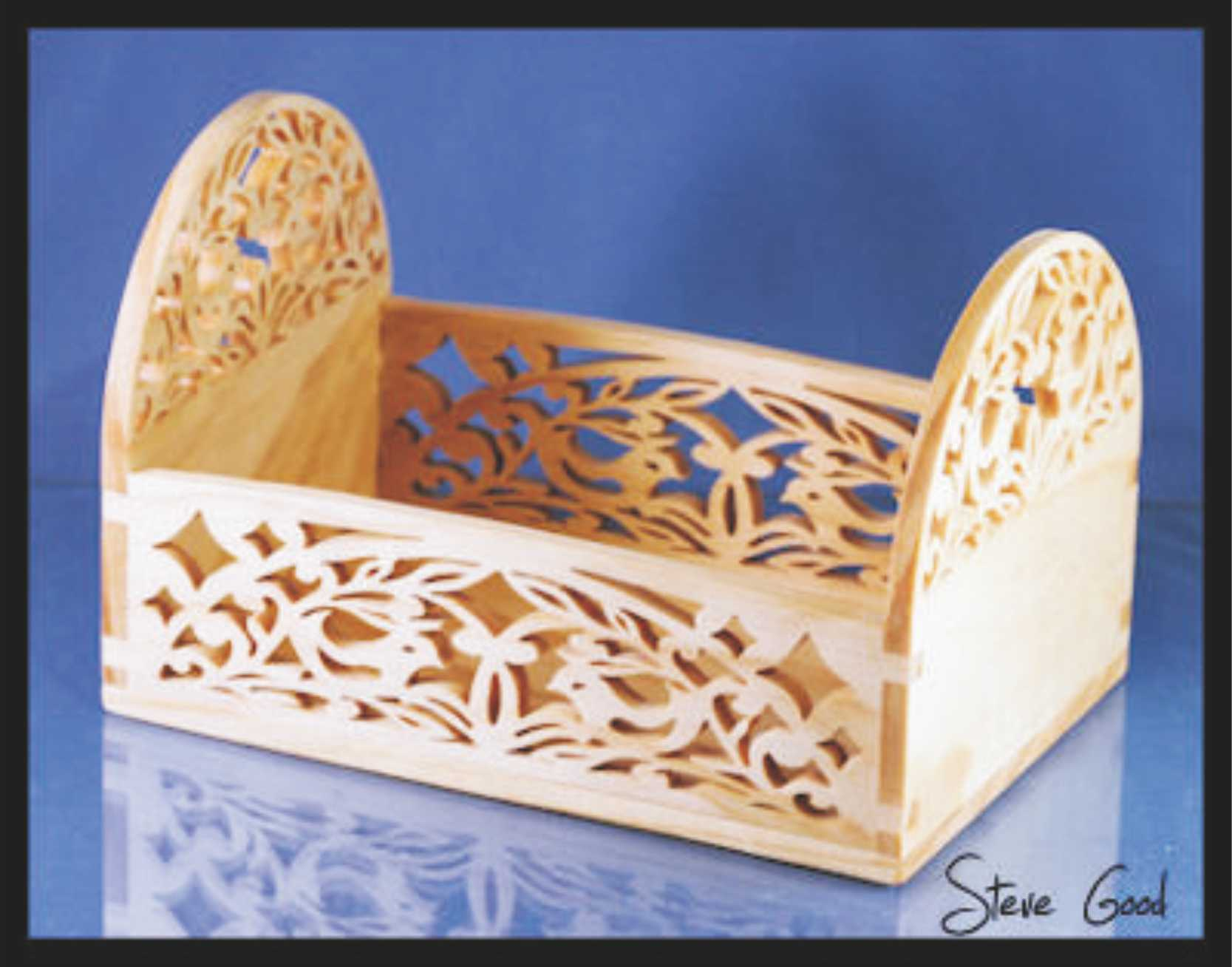 Carved Box Laser Cut