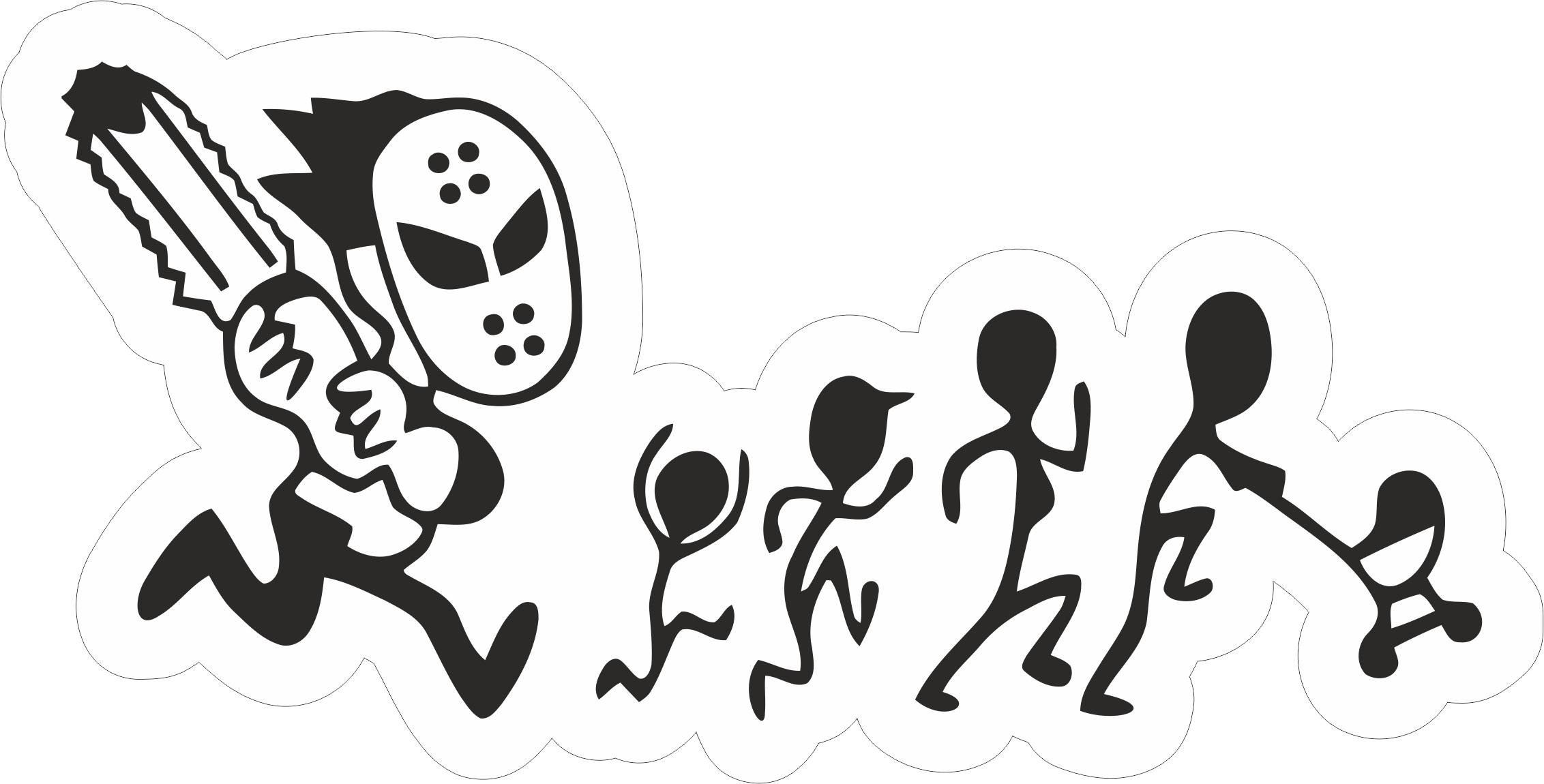 Family Car Sticker