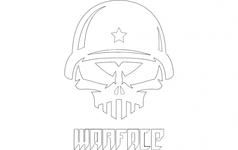 Warface 2 dxf File