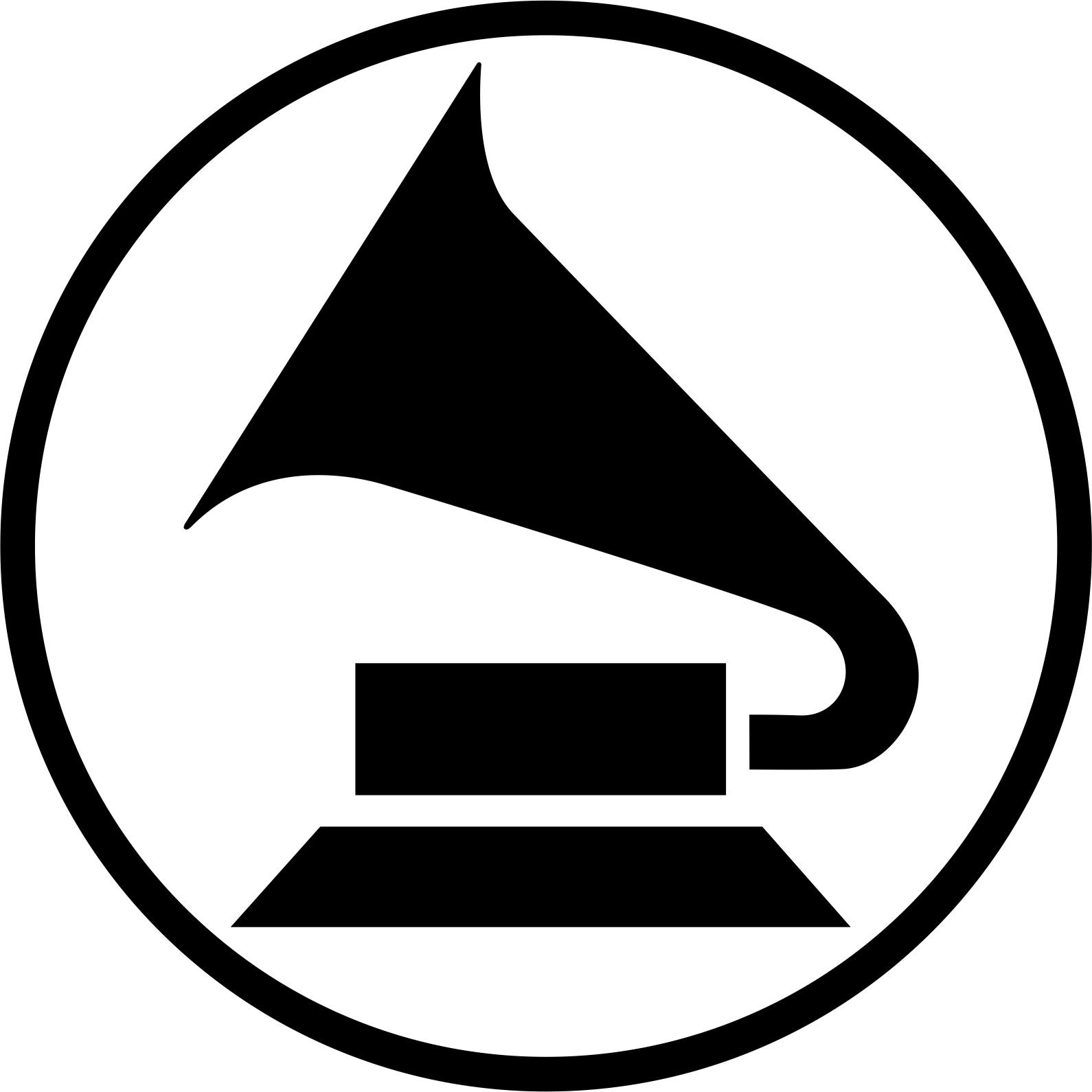 Gramophone Vector Art CDR File