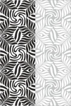 Simple wavy classic sandblast pattern Free Vector