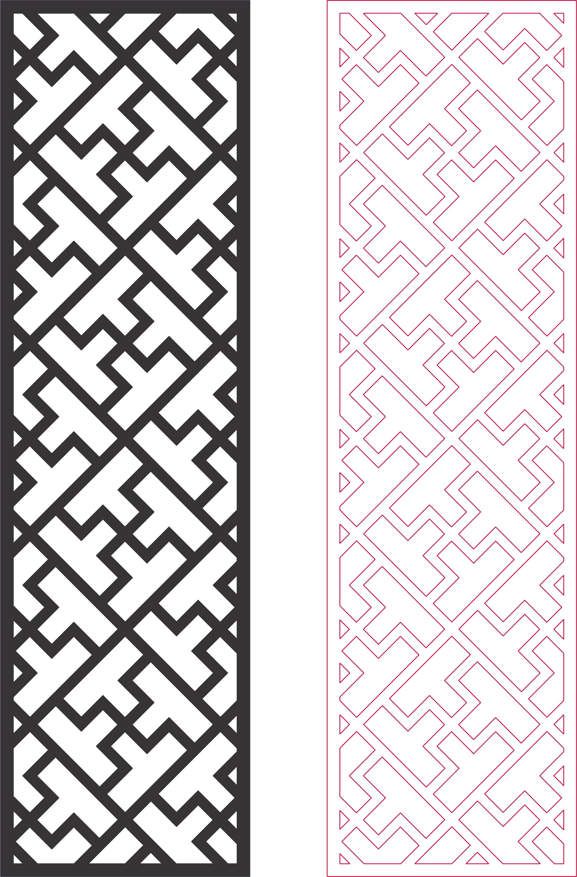 Dxf Pattern Designs 2d 123 DXF File