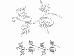 Festive Things 07 dxf File