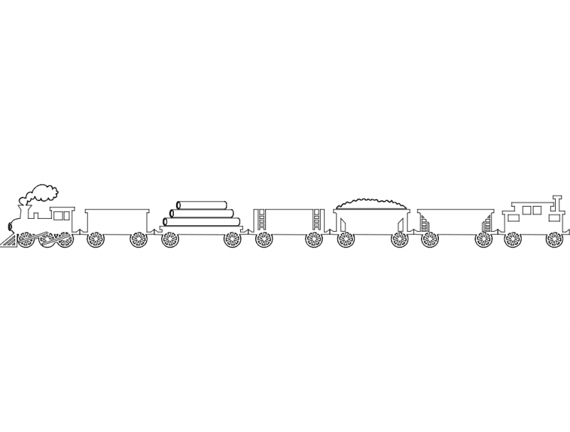 Train dxf File
