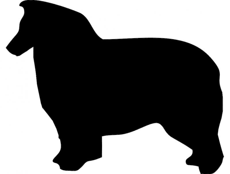 Aussie Dog dxf File