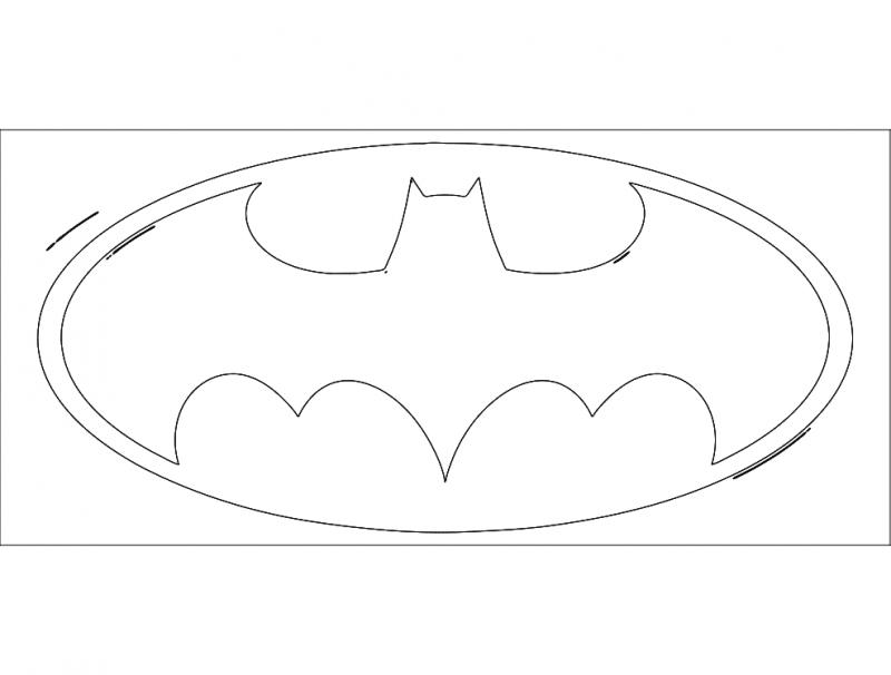 Batman1 dxf File