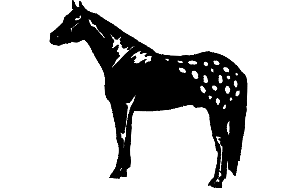 Horse dxf File