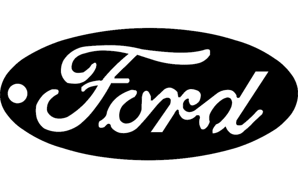 Ford Key Tag dxf File