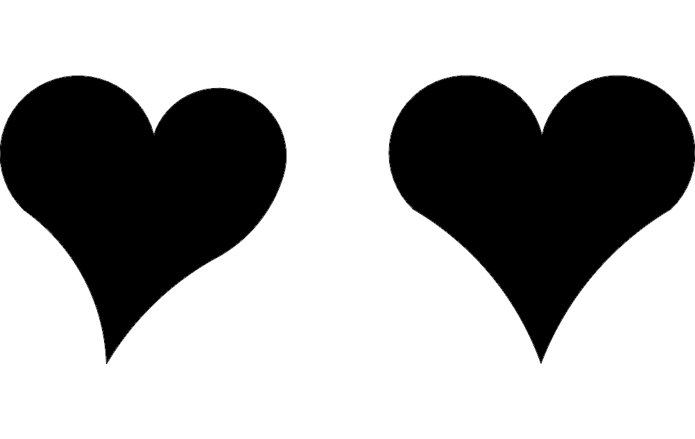 Hearts Dxf File Free Download 3axis Co