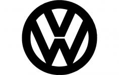 Vw Logo dxf File