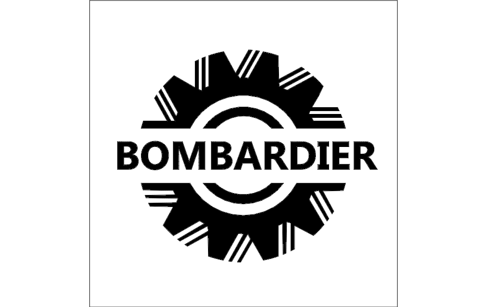 Bombardier Logo Dxf File Free Download 3axis Co