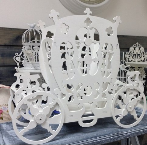 Laser Cut Stagecoach Template Free Vector