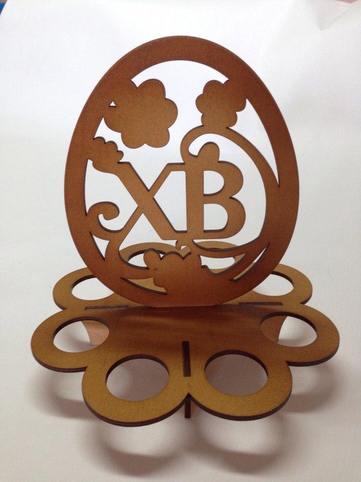 Easter Egg Holder Laser Cut Vector Model Free Vector