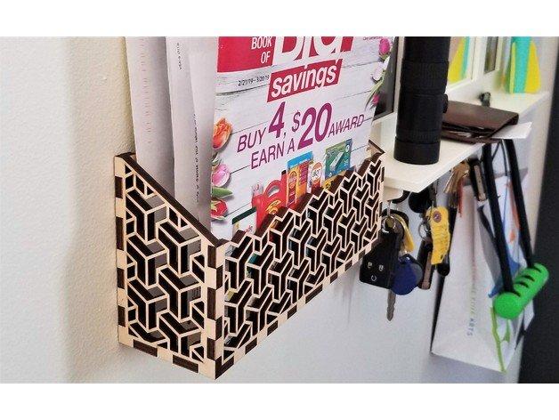 Mail Holder DXF File