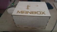 Laser Cut Plywood Man Box With Lid Template Free Vector