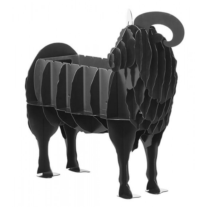 Laser Cut Ram Barbecue Grill Free Vector