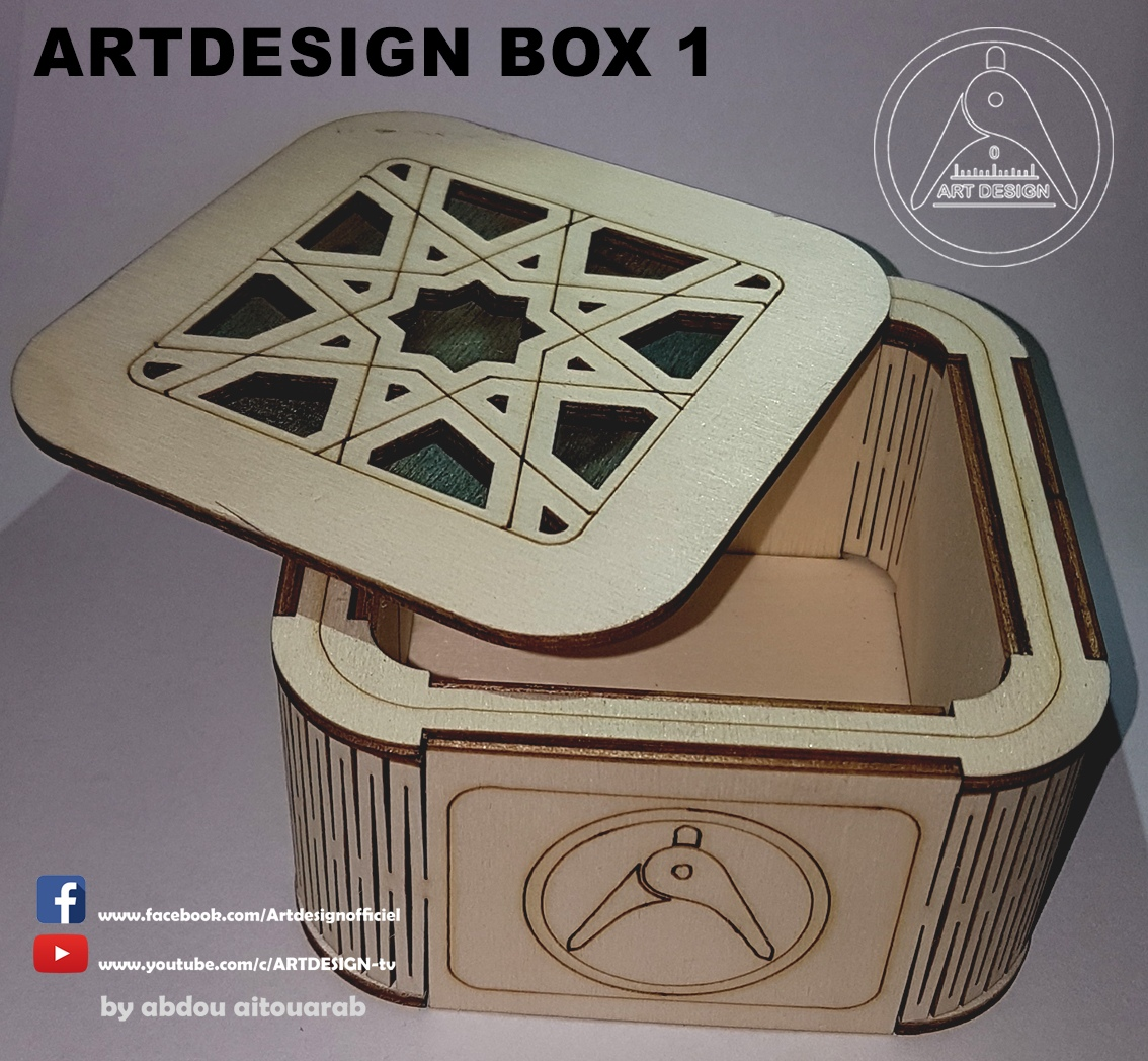 Decor Box DXF File