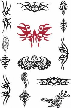 Tattoo Design Vectors EPS File