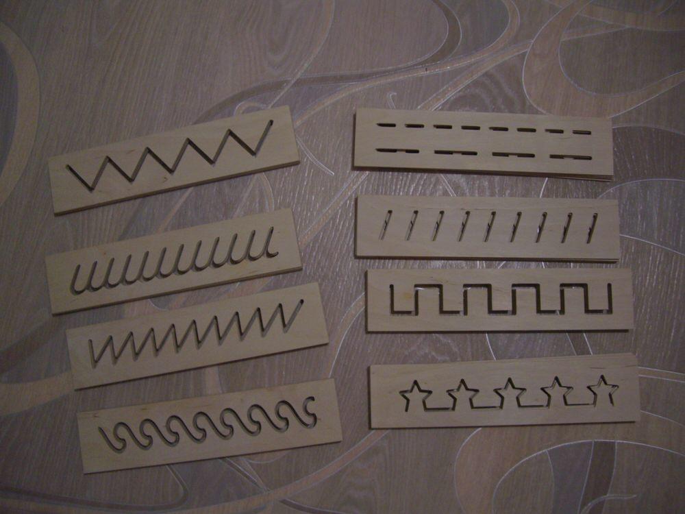 Decorative Laser Cut Stencils DXF File