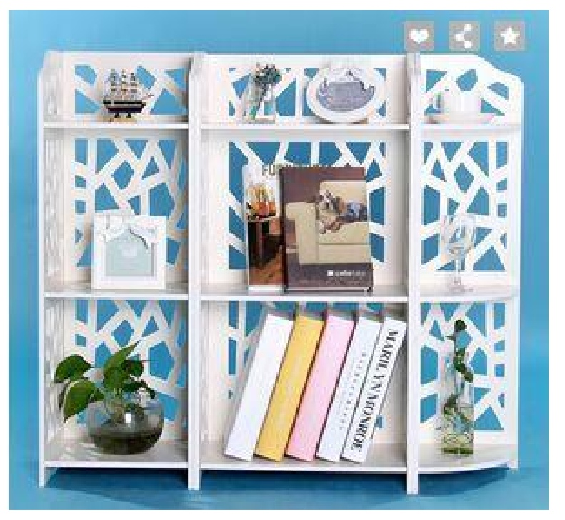 Laser Cut Bookshelf Storage Rack Template Free Vector